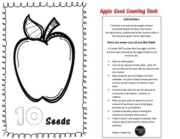 Apple theme Counting Book