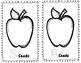 Apple theme, number book, Learn numbers and counting