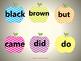 Apple themed Primer Sight Words