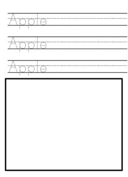 Apple themed worksheets