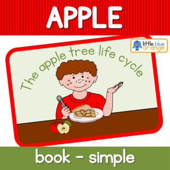 Apple tree life cycle booklet (simplified version) - color only