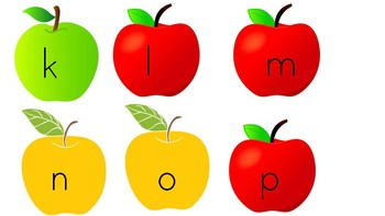 Apple upper and lowercase letters
