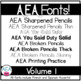 Apple-y Ever After Fonts GROWING BUNDLE!