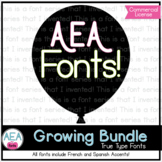 Apple-y Ever After Fonts GROWING BUNDLE!