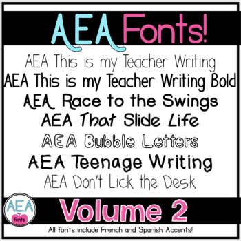 Apple-y Ever After Fonts Volume 2