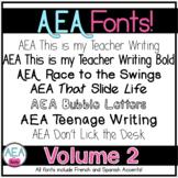 Apple-y Ever After Fonts Volume 2