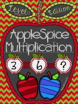 AppleSpice Math: Multiplication Edition Level 1