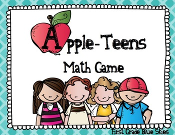 AppleTeens -A Fun Game to Practice Teen Numbers