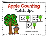 Apples 0-20 Counting Match Up