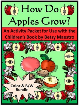 Apples Activities: How Do Apples Grow Activity Packet