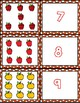 Apples 1-10 Matching Cards ~ 1:1 Correspondence, Subitize, Numeral Recognition