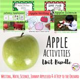 Apples and Apple Activities Bundle