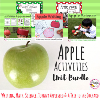Apples and Apple Activities Bundle