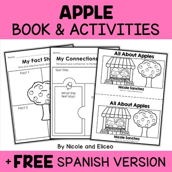 Mini Book and Activities - Apples