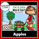 CVC Apples Word Sort