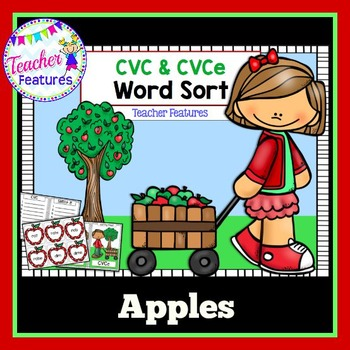 CVC Apples Word Sort