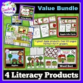 Apple Activities | Apple Literacy Centers | Apple Life Cycle BUNDLE