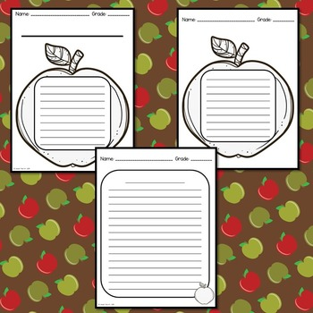 Apple Writing Activities (Apple Writing Prompts)