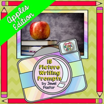 Apples Writing Prompts and Writing Paper