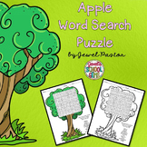 Apple Activities (Apples Word Search)