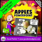 Apples Science Activities (Apples PowerPoint)