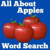 Apple Worksheet | Apples Word Search | Apples Activity