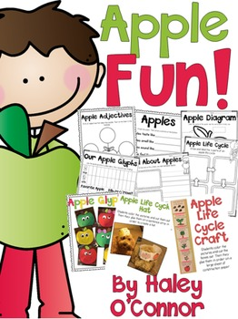 Apples Printables and Craftivities