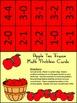 Apple Activities: Apple Ten Frames