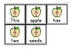 Apples Scrambled Sentence Station