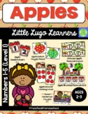 Apples 5 Numbers (1-5) Lessons