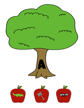 Apples - A Beginning Sounds Game