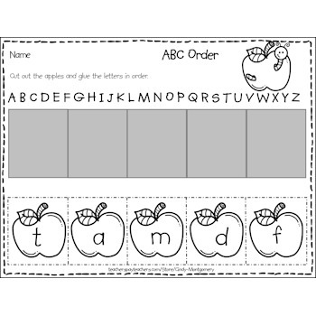 Apples ABC Order