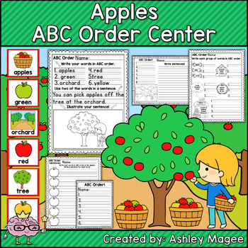 Apples ABC Order Center/Station with differentiation options