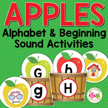 Apples: Apple ABC and Initial Sound Matching for Preshool and Kindergarten
