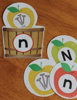 Apples Alphabet and Beginning Sound Activities for Preschool and Kindergarten