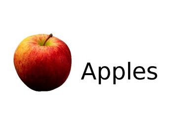 Apples Activities