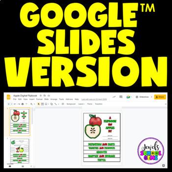 Apples Science Activities (Apples Flipbook)