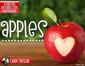 Apples Activities (DIGITAL VERSION)