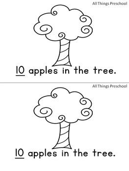 Apples Activities; Preschool