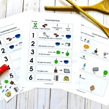 Apples Activities for Fall – Bundle for Speech Therapy or Special Education