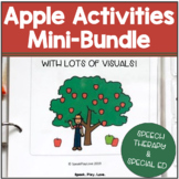 Apples Activities for Fall – Bundle for Speech Therapy or