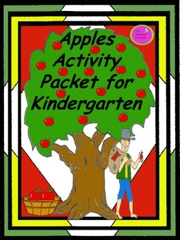 Apples Activity Packet for Kindergarten