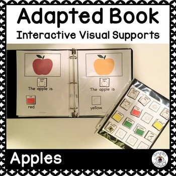 Apples Adapted Book with Interactive Visuals