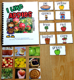 "Apples Adapted Book--""I Like Apples""  (w/Real Photos)"