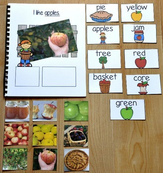 """Apples Adapted Book--""""I Like Apples""""  (w/Real Photos)"""