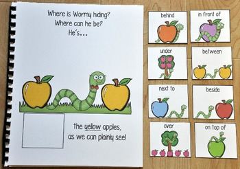 "Apples Adapted Book--""Where is Wormy Hiding?"""
