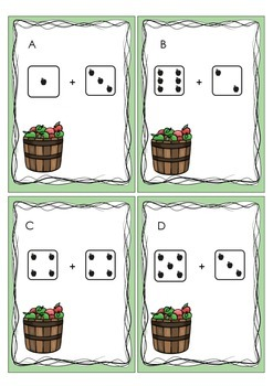 Apples Add the Room - Dice Based Addends to 10