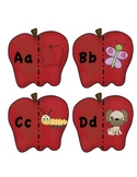 Apples Alphabet Match