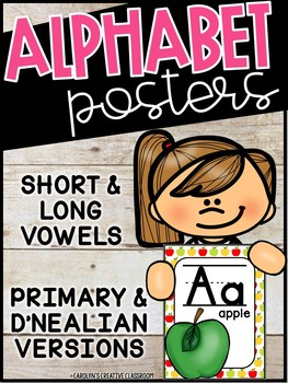 Apples Alphabet Posters - Apples Decor