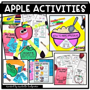 Apples, Apple Activities, Parts of an Apple, Apple Life Cycle, Apple Unit